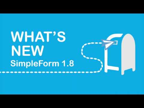 SimpleForm 1.8 Overview: the most friendly WordPress contact form plugin