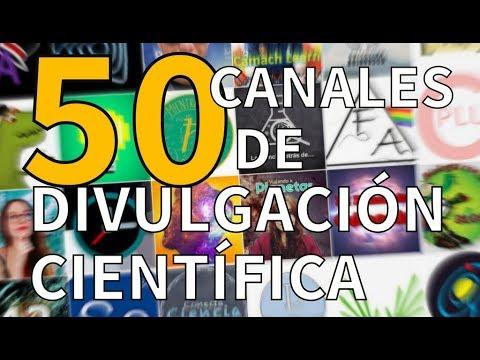 50 Youtubers de DIVULGACIÓN científica en español