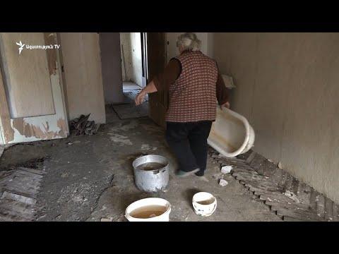 Ալավերդիում շենքի տանիքի հիմնանորոգումը բնակիչների կյանքը տակնուվրա է արել
