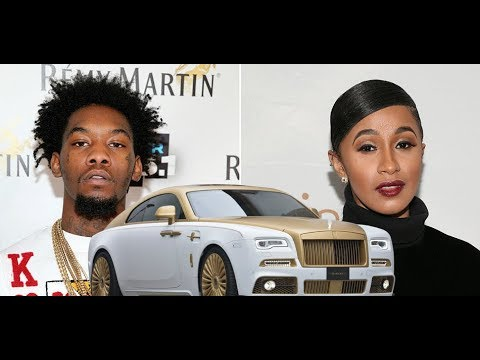 Cardi B BUYS OFFSET migos $500,000 Dollar Rolls Royce Wraith after 1 Hit Single, WIll She Go Broke?