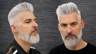 Corte de pelo y barba 2018 | Modern Haircut and Beard