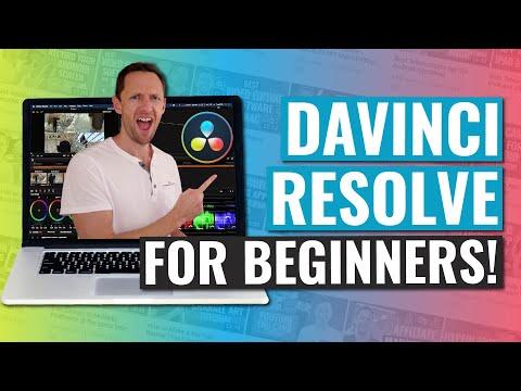 DaVinci Resolve - COMPLETE Tutorial for Beginners!