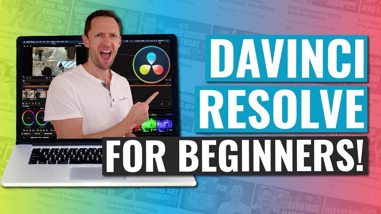 Download DaVinci Resolve - COMPLETE Tutorial for Beginners!