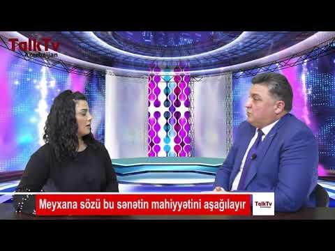 """Namiq Məna: """"Meyxana sözü bu sənətin mahiyyətini aşağılayır"""""""