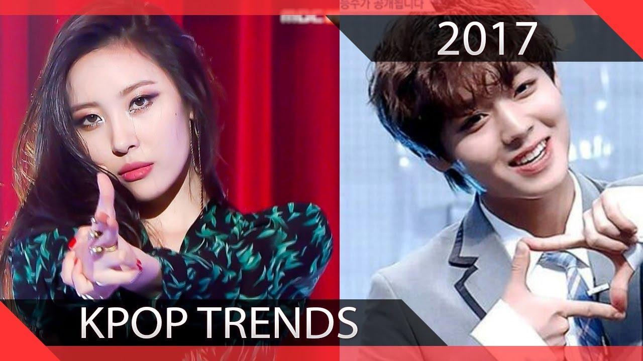 Kpop Trends Of 2017  Youtube