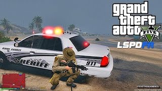 GRAND THEFT AUTO 5 LSPDFR EP #45 - TORNADO PATROL (GTA 5 PC POLICE MODS) SHERIFF