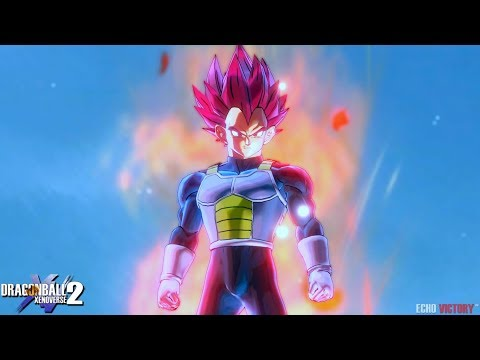 NEW SSG Vegeta from Broly Movie! Custom Moveset & Skills   Dragon Ball Xenoverse 2 Mod