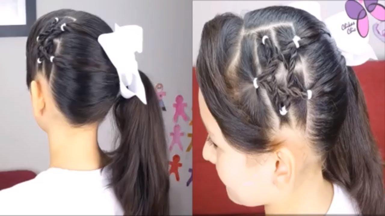 أجمل تسريحات شعر بنات للمدرسة تسريحات شعر سهله وسريعه للمدرسه