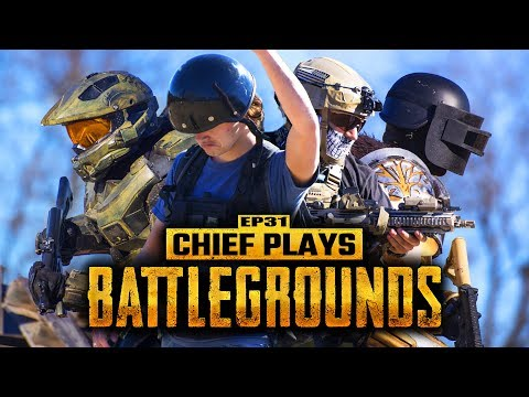 Chief Plays BATTLEGROUNDS (Live Action PUBG) | Living With Chief Ep.31