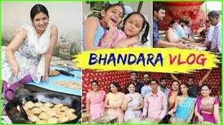 Navratri Bhandara..JAI MATA DI | #Festiveseason #Vlog #Bhog #MyMissAnand #CookWithNisha