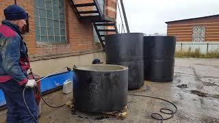 Гидроизоляция септика из бетонных колец - видео, инструкция