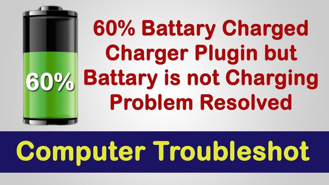 Battery Charging 60%, Plugin, Not Charging | Lenovo Laptop | Problem Solved