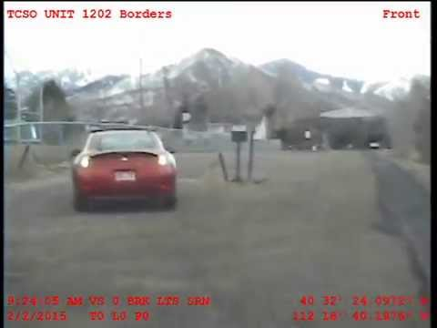 Tooele County Sheriff's deputy dash cam of high speed chase