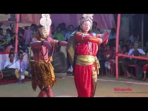 Akhara kolhan   Seraikela Chhau, Har Parvati,