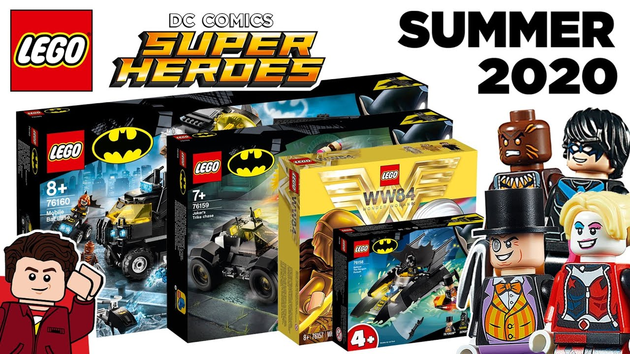 Every Lego Dc Super Heroes 2020 June Sets Official Pictures Youtube