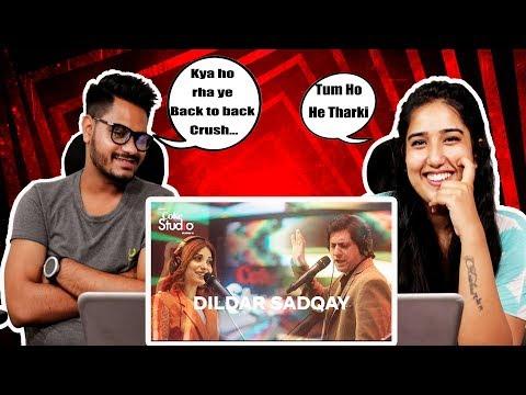 Indian Reaction On Dildar Sadqay, Jawad Ahmad & Elizabeth Rai, Coke Studio Season 11, Episode 9