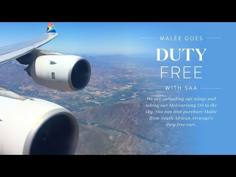 Malée get some wings | Fly SAA | Duty Free