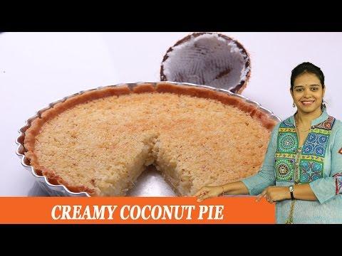 CREAMY COCONUT PIE - Mrs Vahchef