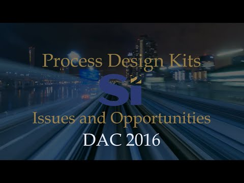 Process Design Kits: Issues and Opportunities