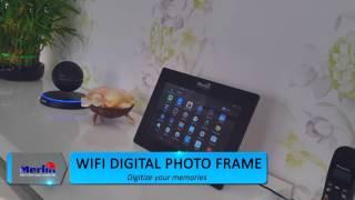 Merlin Wi-Fi Digital Photo Frame