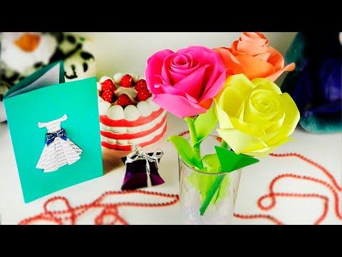 Как сделать цветы из атласных лент - шедевры своими руками