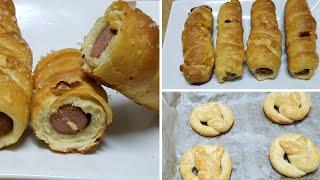 pretzel recipe||How to make homemade cheesy sausage pretzel recipe by kitchen with Fatima