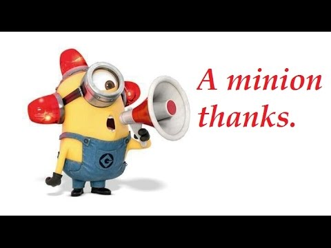 thanks a minion
