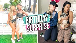 ALISHA'S BIRTHDAY SURPRISE!!