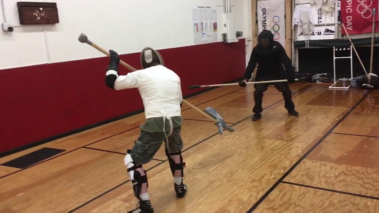Halberd vs spear