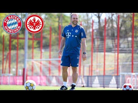 FC Bayern Cyber-Pressetalk mit Hansi Flick vor dem Spiel gegen Eintracht Frankfurt #FCBSGE