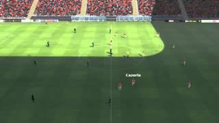 Arsenal Vs Man Utd - Cazorla Goal 3 Minutes