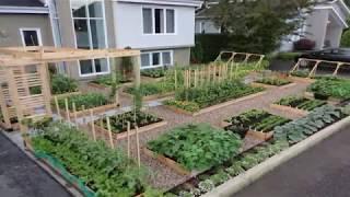 как сделать грядки саду