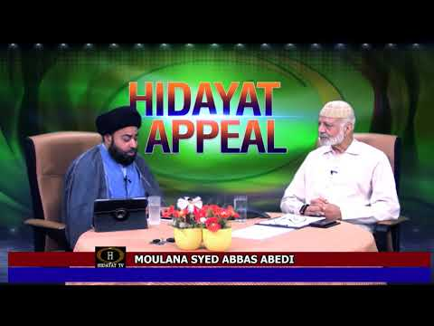 MOULANA AGHA ABEDI SB EXPLANATION WHY HE RESIGN FROM HIDAYAT TV (C)