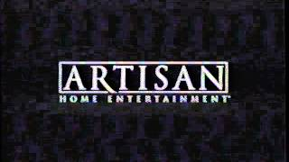 Artisan Home Entertainment (2003) Company Logo (VHS Capture)
