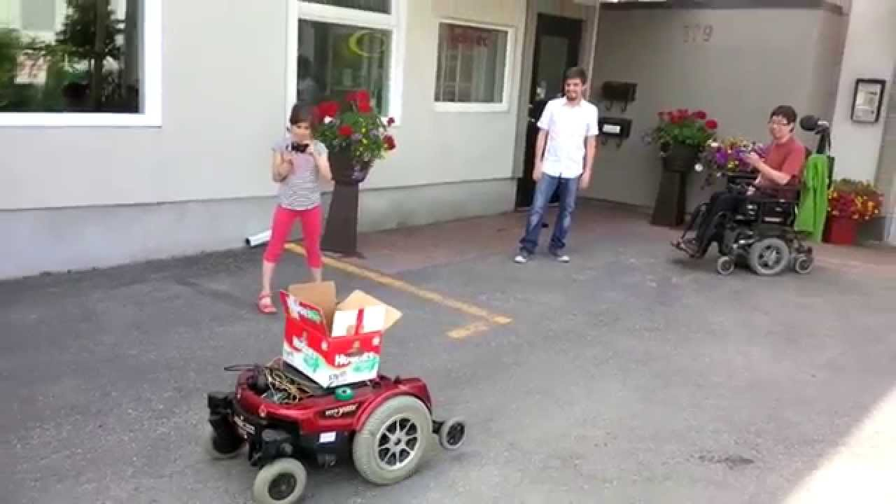 Smartphone controlled wheelchair using raspberry pi and for How to motorize a wheelchair