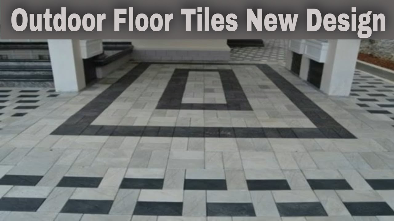modern parking tiles design outdoor floor tiles new design