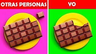 OTRAS PERSONAS VS YO || 22 SITUACIONES REALES QUE CUALQUIERA VA A RECONOCER