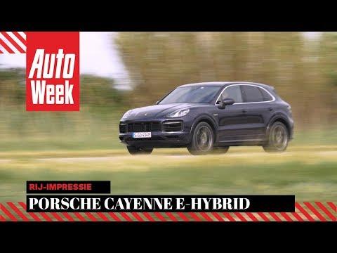 Porsche Cayenne E-Hybrid - AutoWeek Review - English subtitles