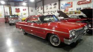 ***SOLD***1964 SS Impala, 4 speed, PS, PB, factory tilt and tach 327-300HP