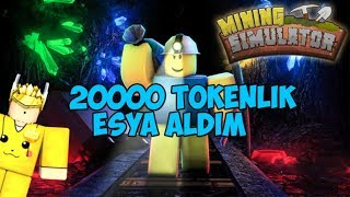 ROBLOX / Mining Simulator 20.000 Token'lik Eşya !!! / Roblox Türkçe