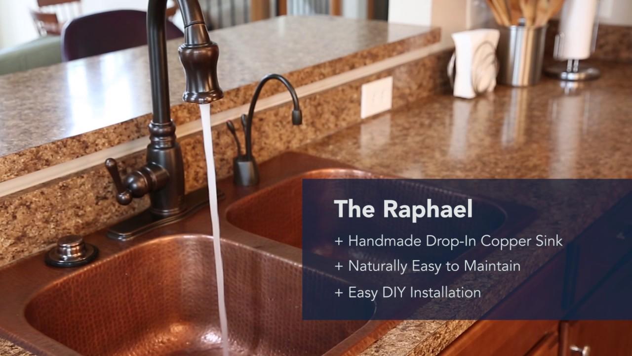 Sinkology The Raphael Copper Kitchen Sink