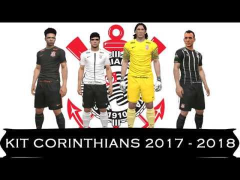 Kit Completo Corinthians 2017 2018 Para Pes 2017 Pc E Console