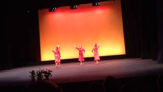 Karoun Dance Ensemble Performing Hale in Saratoga May 2015