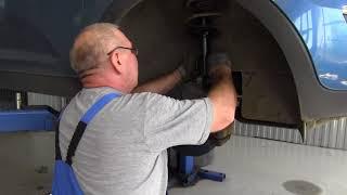 видео Диагностика и ремонт подвески
