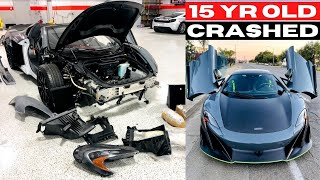 15 Year Old STOLE & CRASHED Dad's $600,000 Car!! - WE FIX LIKE BRAND NEW!!
