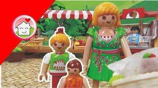 Kinderfilm deutsch Playmobil : Auf dem Wochenmarkt / Kinderserie von family stories