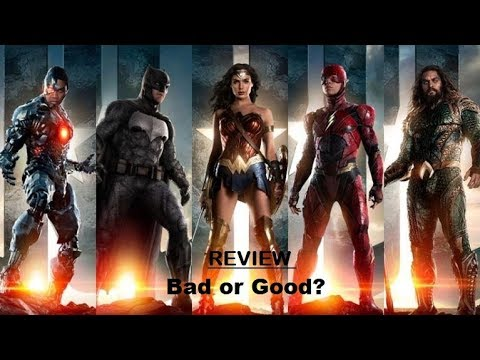 Justice League - Movie Review, BEN AFFLECK | GAL GADOT | HENRY CAVILL | EZRA MILLER -  GOOD AND BAD