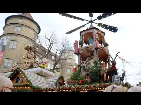 Stuttgart's Christmas Market! - December 2, 2015 - MeetTheWengers Daily Vlog
