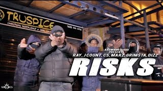 Download Ray, J Count, CS, Marz, Grimsta & Dizz - Risks (Music )   KrownMedia MP3 song and Music Video