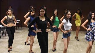 Campus Princess 2015: Ramp Walk Training With Supermodel Alesia Raut